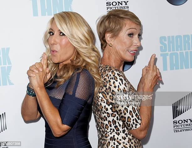 Barbara Corcoran and Lori Greiner attend the 'Shark Tank' season 8 premiere at Viceroy L'Ermitage Beverly Hills on September 23 2016 in Beverly Hills...