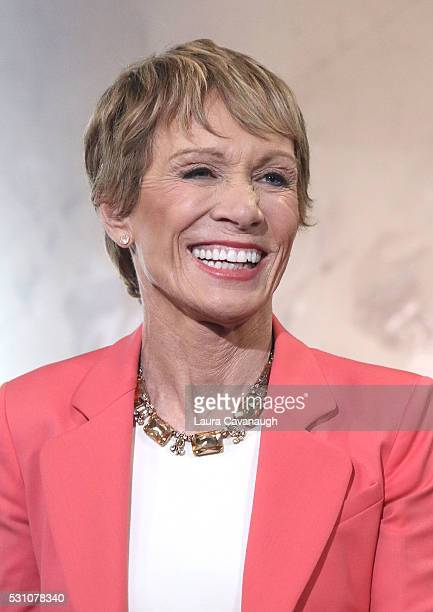 Barbara Corcoran attends AOL Build Speaker Series to discuss Shark Tank and Beyond the Tank at AOL Studios In New York on May 12 2016 in New York City