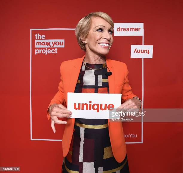 Barbara Corcoran partnered with TJMaxx to host The Maxx You Project Workshop encouraging women pursuing their dreams to let their individuality shine...