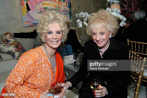Barbara Cowan and Selma Archer attend Nikki Haskell Birthday Celebration at Sierra Towers on May 17 2007 in West Hollywood CA