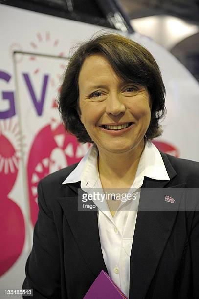 Barbara Dalibard attends the TGV 30th Anniversary ceremony at Gare Montparnasse on April 7 2011 in Paris France