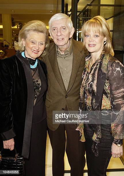 Barbara Davis Aaron Spelling and Candy Spelling during Peace and Love Jewelry by Nancy Davis Launch Party at Saks Fifth Avenue in Beverly Hills...