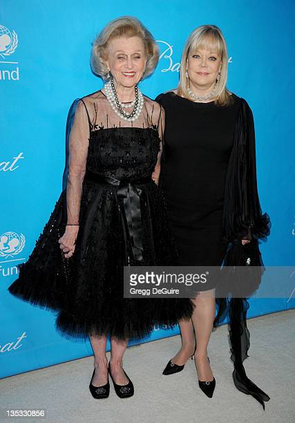 Barbara Davis and Candy Spelling arrive at The 2011 Unicef Ball on December 8 2011 in Beverly Hills United States