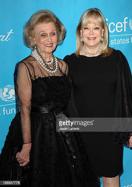 Barbara Davis and Candy Spelling attend The 2011 Unicef Ball at the Beverly Wilshire Four Seasons Hotel on December 8 2011 in Beverly Hills United...