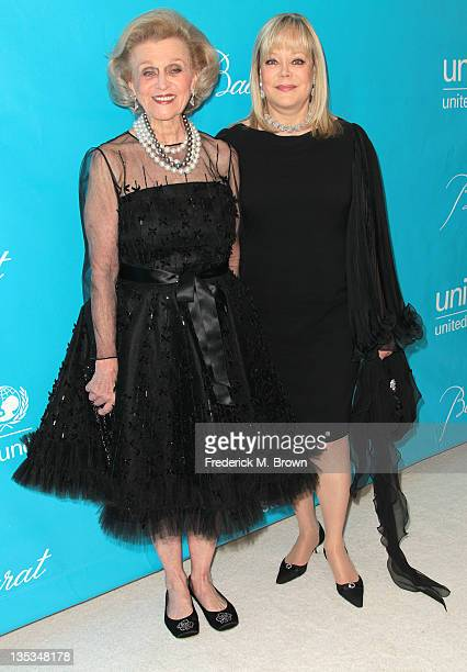 Barbara Davis and Candy Spelling attend The 2011 Unicef Ball at The Beverly Wilshire Hotel on December 8 2011 in Beverly Hills California
