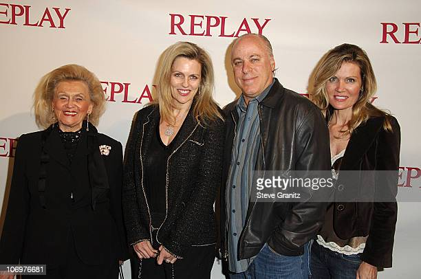 Barbara Davis and Nancy Davis during Brandon Davis and Italian Clothing Brand Replay Celebrate the Opening of Their Los Angeles Store Arrivals at...