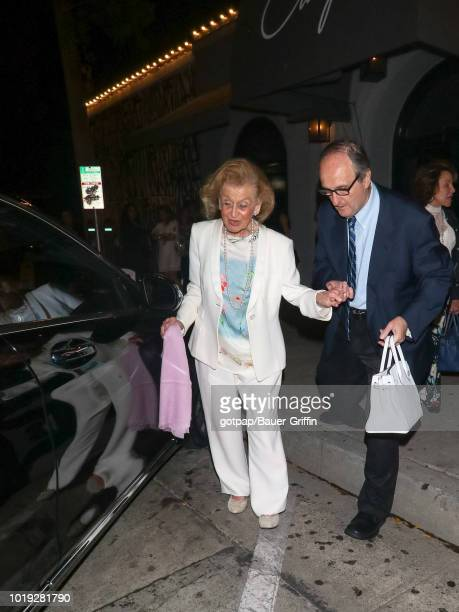 Mark Steven and Brooke Lewis are seen on August 18 2018 in Los Angeles CA
