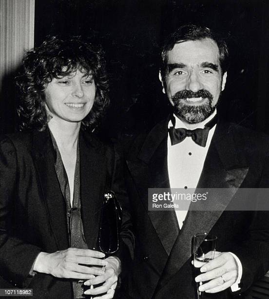 Barbara De Fina and Martin Scorsese during 20th Anniversary Party for Alumni of New York University's Tisch School of the Arts at New York University...