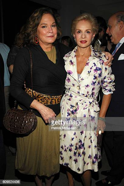 Barbara de Kwiatkowski and Carolina Herrera attend INTERVIEW MAGAZINE DIANE VON FURSTENBERG and W HOTELS Launch Party for BOB COLACELLO's new book...