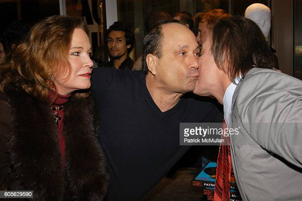Barbara de Kwiatkowski Ross Bleckner and Patrick McMullan attend The Launch of PATRICK MCMULLAN'S Book KISS KISS and the new DKNY Fragrance RED...
