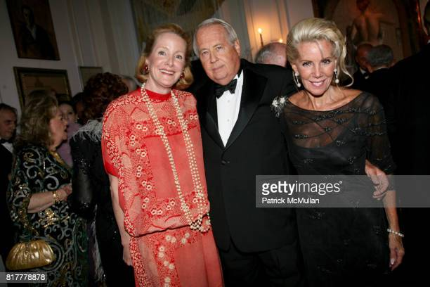 Barbara De Portago Lee Black and Cece Black attend Portrait artist ZITA DAVISSON's Great Gatsby Party A Roaring 20's Evening at Private Residence on...
