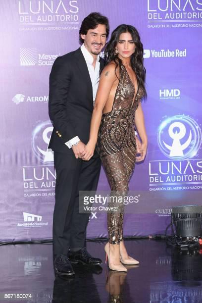 Barbara de Regil and Fernando Schoenwald attend Las Lunas del Auditorio Nacional 2017 at Auditorio Nacional on October 25 2017 in Mexico City Mexico