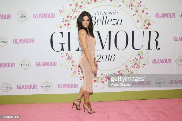 Barbara de Regil attends the Glamour Mexico magazine Beauty Awards 2016 at Jardin Versal on February 23 2017 in Mexico City Mexico