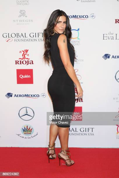 Barbara de Regil attends The Global Gift Gala Mexico 2017 at St Regis Hotel on November 1 2017 in Mexico City Mexico