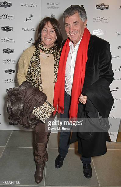 Barbara Dein and David Dein attend The Old Vic's Clarence Darrow Guest Night after party at Mondrian London on March 4 2015 in London England