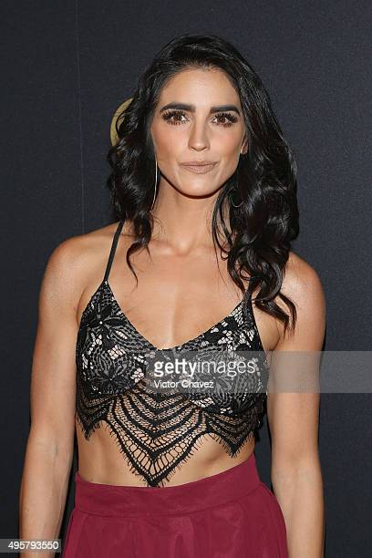 Barbara del Regil attends the GQ Mexico Men of The Year 2015 awards at Live Aqua Bosques hotel on November 4 2015 in Mexico City Mexico