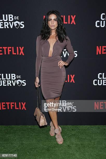 Barbara del Regil attends the Netflix Club De Cuervos Season 2 launch party at Cinemex Patriotismo on December 10 2016 in Mexico City Mexico