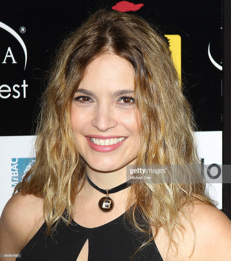 Barbara Di Mattia arrives at The 8th Annual Los Angeles, Italia Film, Fashion And Art Festival held at Chinese 6 Theatres on February 17, 2013 in Hollywood, California.