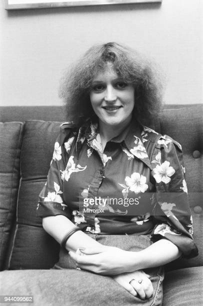 Barbara Dickson pictured here in London for Bill Hagerty Show Business 20th January 1976