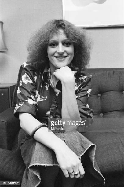 Barbara Dickson pictured in London for Bill Hagerty Show Business 20th January 1976