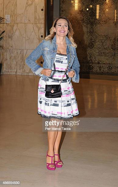 Barbara D'Urso attends the 'Nerone Duemila Anni DI Calunnie' Theatre Premiere on October 2 2014 in Milan Italy