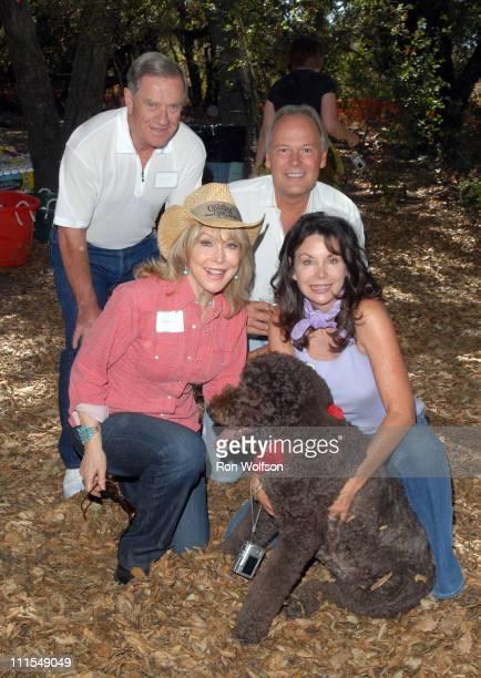 Barbara Eden and her husband Jon Eicholtz Philip Steele and Sharon Steele