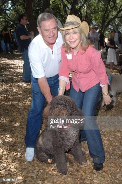 Barbara Eden and her husband Jon Eicholtz