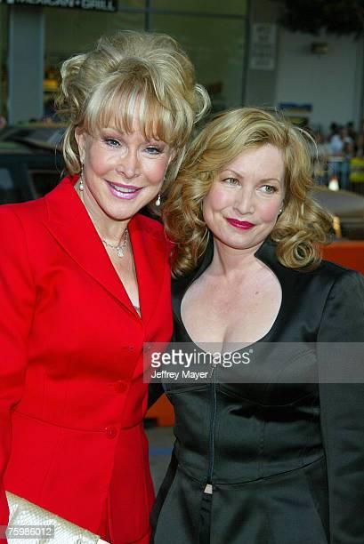 Barbara Eden and Katherine Fugate