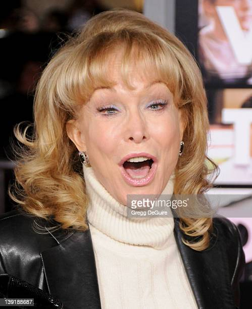 Barbara Eden arrives at the Valentine's Day Los Angeles Premiere at the Grauman's Chinese Theater on February 8 2010 in Hollywood California