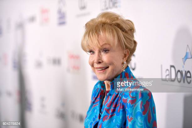 Barbara Eden attends the 4th Hollywood Beauty Awards at Avalon Hollywood on February 25 2018 in Los Angeles California