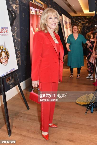 Barbara Eden attends the press night after party for Ruthless The Musical at The Ham Yard Hotel on March 27 2018 in London England