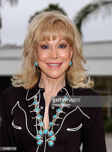 Barbara Eden during 49th Annual Share Boomtown Party at Santa Monica Civic Auditorium in Santa Monica California United States