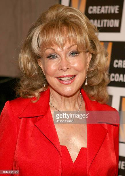 Barbara Eden during 'Dirty Rotten Scoundrels' Los Angeles Premiere Performance Arrivals at Pantages Theatre in Hollywood California United States