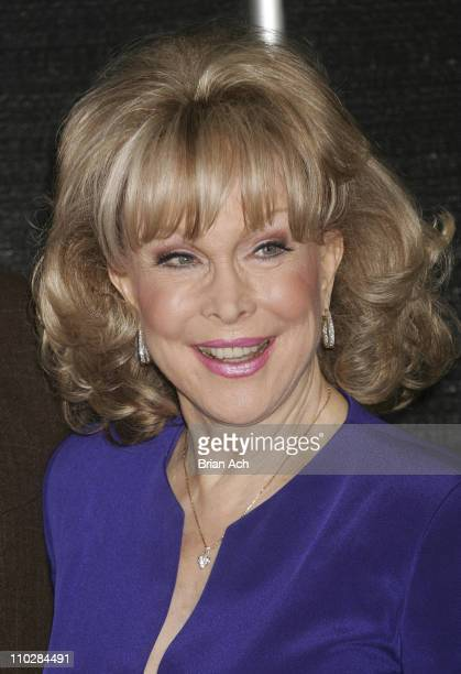 Barbara Eden during Larry Hagman and Barbara Eden Sign I Dream of Jeanie DVD at BN in New York City March 15 2005 at Barnes and Noble in New York...