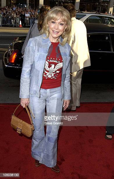 Barbara Eden during Windtalkers Premiere at Grauman's Chinese Theatre in Hollywood California United States