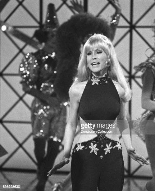 Barbara Eden performs on This Is Tom Jones TV show in circa 1970 in Los Angeles California