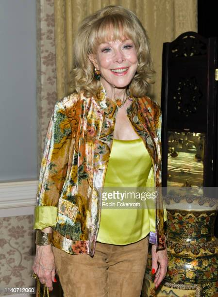 Barbara Eden poses for portrait at the LA Premiere of Renee Taylor's My Life On A Diet Night 1 at Wallis Annenberg Center for the Performing Arts on...