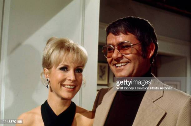 Barbara Eden Roger Perry appearing in the Walt Disney Television via Getty Images tv series 'The Barbara Eden Show'