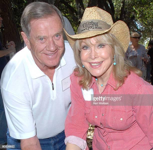 Barbara Eden with her husband Jon Eicholtz