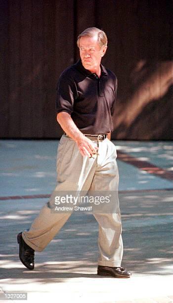 Barbara Eden''s husband Jon Eicholtz walks to his car June 26 2001 in Beverly Hills CA Eden''s son Matthew Michael Ansara was found dead June 25 2001...