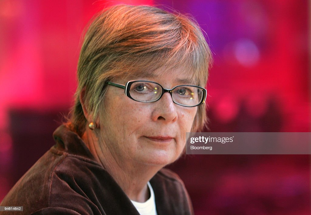 Barbara Ehrenreich, author of Dancing in the Streets, poses : News Photo