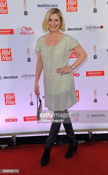 Barbara Eligmann attends the 'Goldene Bild Der Frau' Award 2014 at TUI Operettenhaus on November 20 2014 in Hamburg Germany