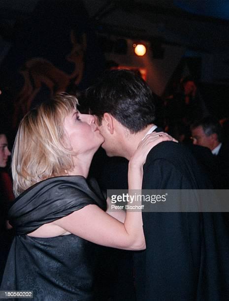 Barbara Eligmann, Ehemann Thomas Justus,;ARD live, Bambi-Verleihung, Estrele;Convention Center, Berlin, Deutschland,;Party, Abendgarderobe, tanzen,...