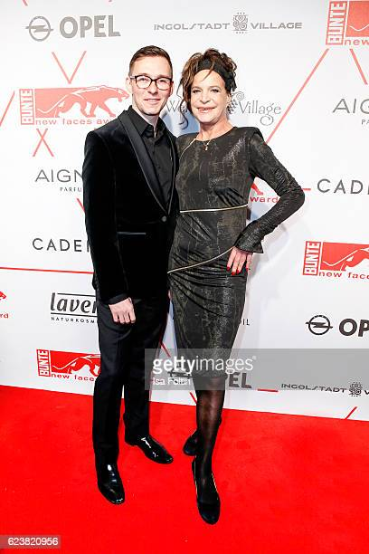 Barbara Engel and guest attend New Faces Award Style on November 16 2016 in Berlin Germany