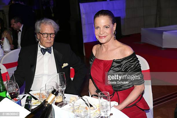 Barbara Engel and her formerly husband Bernd Herzsprung during the 7th 'Filmball Vienna' at City Hall on April 1 2016 in Vienna Austria