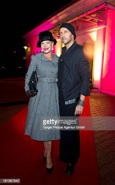 Barbara Engel and Hubertus Regout attend the 'Fest der Eleganz und Intelligenz' at Villa Siemens on September 20 2013 in Berlin Germany