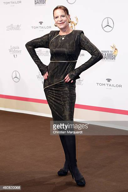 Barbara Engel arrives for the Tribute to Bambi 2015 at Station on October 15 2015 in Berlin Germany