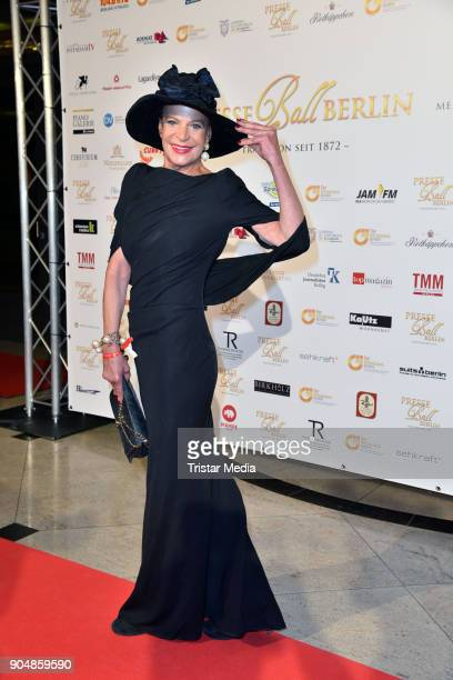 Barbara Engel attends the 117th Press Ball on January 13 2018 in Berlin Germany