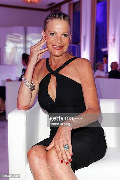 Barbara Engel attends the Atlantic Hotel reopening summer party celebration on August 23 2012 in Hamburg Germany
