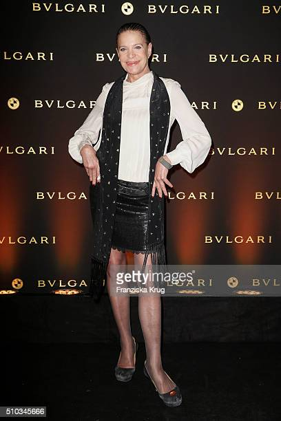 Barbara Engel attends the Bulgari Night Of The Icons on February 14 2016 in Berlin Germany